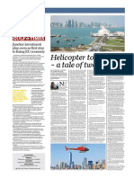 Helicopter Tourism. A Tale of Two Cities - Gulf Times 28 November 2014