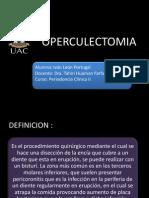 OPERCULECTOMIA