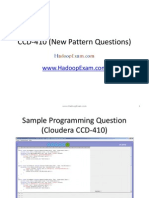 CCD-410 (New Pattern Questions)