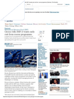 Greece Tells IMF It Wants Early Exit From Rescue Programme _ Business _ the Guardian