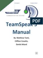 teamspeak 3 manual