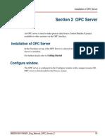 OPC Server Setup