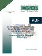 La Investigacion Social, La Toma de Decisiones