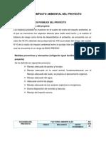 Evaluación de Impacto Ambiental Del Proyecto
