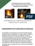 fundicion de metales