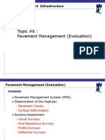 Lecture #6 Pavement Management (Evaluation)