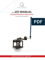 Rotary Inverted Pendulum - User Manual