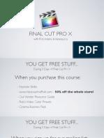 Final cut pro basic