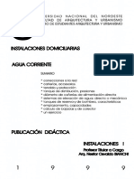 Instalaciones Domiciliarias Agua Corriente