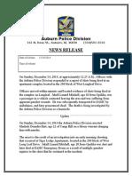 Markale Hart Arrest Press Release