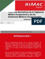 PICLima Aspectos Normativos Vigilancia Examenes Medicos Ocupacionales 2014