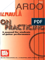 Ricardo Iznaola - On Practising