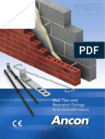 Wall Ties and Restraint Fixings July 2014