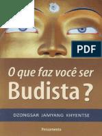 O Que Faz Voce Ser Budista - Dzongsar Jamyang Khyentse