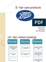 Boots hair care products_case analysis