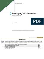 CLC Managing Virtual Teams