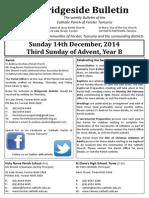 2014-12-14 - 3 Advent B