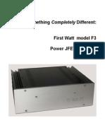 First Watt F3