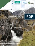 Glaciares, Agua y Cuencas por Edson Ramirez - Bolivia