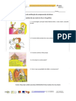 Ficha de Leitura o Senhor Do Seu Nariz de Álvaro Magalhães