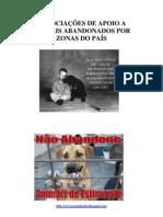 AssociaÇÕes de Apoio a Animais Abandonados Por