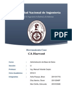 CA Harvest Final Formato