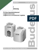 Manual Logano G115