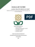 MAKALAH TAUHID Mu'Tazilah n Asy'Ariyah