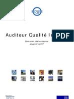 Audit qualité interne
