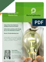 MarketingMonday Masterclass Marketing 2.0