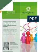 MarketingMonday Masterclass Social Media