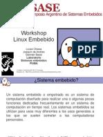 Workshop Linux Completo Simposio de Sistemas Embebido