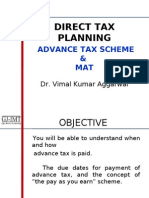 Direct Tax Planning Advance Tax