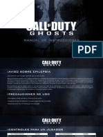 Call of duty Ghost - Manual de instrucciones