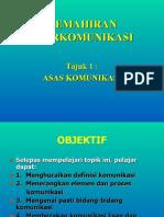 ASAS KOMUNIKASI
