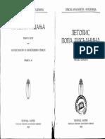 Letopis Popa Dukljanina Priredio Ferdo Sisic