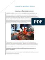 Como Hacer Más Seguras Las Operaciones en Barcos Petroleros