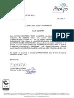 Certificado Laboral Yesid Sayago