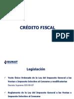 Credito Fiscal Julio 2014