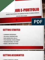 for your e-portfolio pp