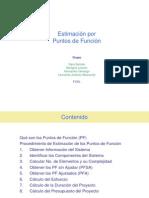 Tutorial Técnica de Estimación FPA