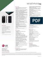 ESpec Sheet LG L90