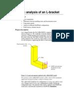 Analysis of L Bracket