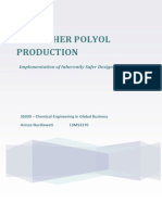 Polyether Polyol Production Assignment