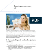 Cloruro de Magnesio para rejuvenecer y recuperar salud.docx