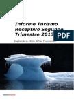 Informe Turismo Receptivo Trimestre 2013