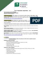 MBA-Portafolio Financiero Maestrias 2014