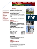 Electric Rates - Lebanon Utilities