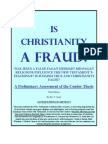 IS CHRISTIANITY A FRAUD?
