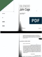 Silencio - John Cage